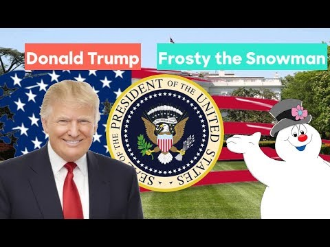 Frosty the Snowman vs Donald Trump | Election Prediction