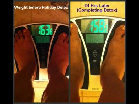 My Results after the 24 Hr Holiday Detox Diet (Must Watch)