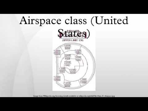 Airspace class (United States)