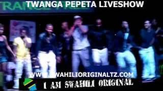 TWANGA PEPETA LIVE SHOW WWW.SWAHILIORIGINALTZ.COM