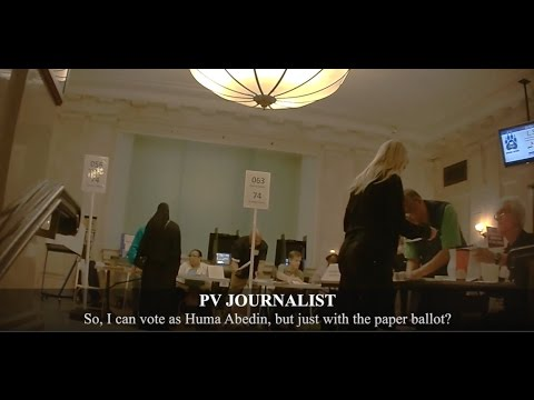 Undercover Journalist in Full Burka Is Offered Huma Abedin's Ballot: Project Veritas