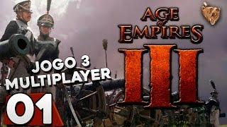 Age of Empires 3 #3.01 Multiplayer Com inscritos! - Gameplay Português Vamos Jogar PT-BR