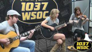 "103.7 WSOC: Joanna Smith sings ""Girlfriends Gettin"