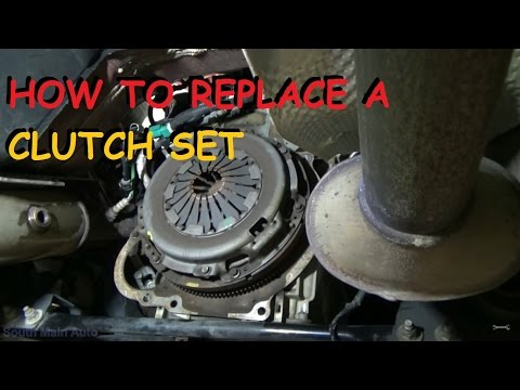 Rear Wheel Drive Clutch Replacement