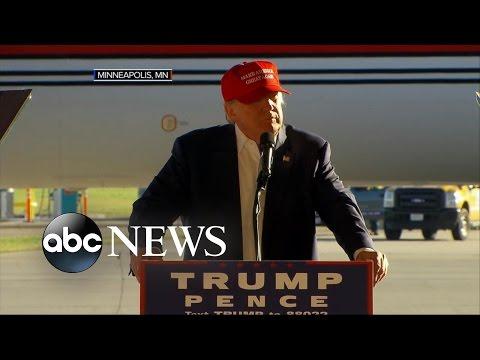 Trump Sticks to Script in Final Days of Raucous Campaign