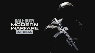 CALL OF DUTY MODERN WARFARE - Alpha no Modo 2v2 | PS4 Pro Gameplay