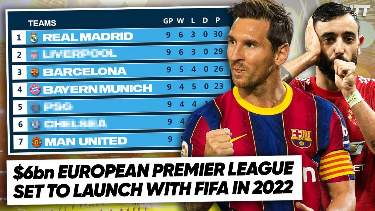 EUROPEAN SUPER CLUBS ANNOUNCE NEW LEAGUE THAT STARTS IN 2022! | WNTT