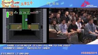 Summer Games Done Quick 2014 - Part 160 - Legend Of Zelda: A Link To The Past