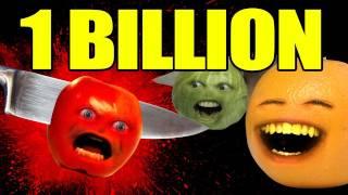 Annoying Orange - 1 BILLION KILLS!