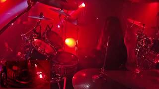 KRISIUN@Scourge of the Enthroned-Live in Poland 2019 (Drum Cam)