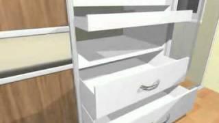 KOMANDOR - garderobes, iebūvējamie skapji(best cabinets, Skapji, garderobes, bīdāmās durvis - skapji.www.skapji.lv., 2012-01-23T19:32:02.000Z)
