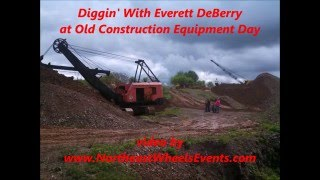 Diggin With Everett at Old Construction Equipment Day at Gerhart Equipment