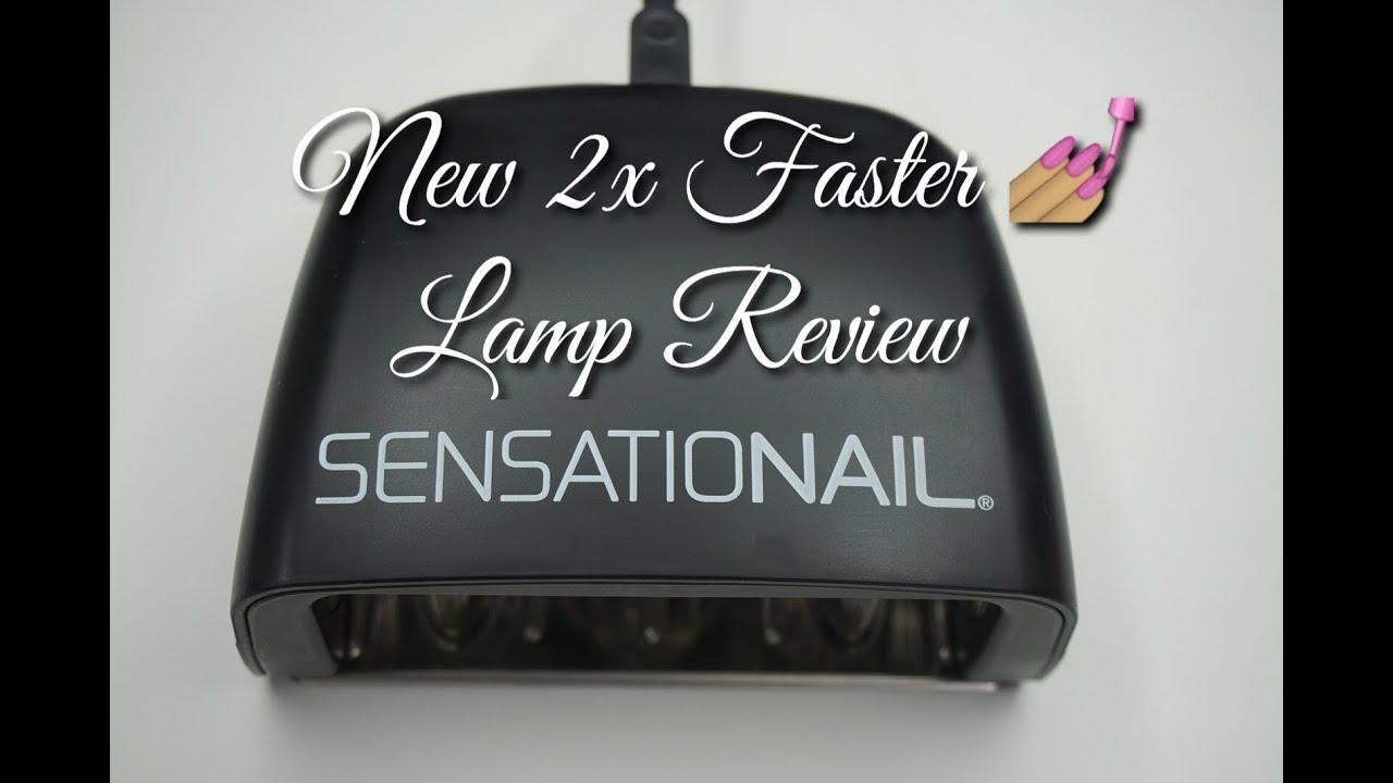 New 2X Faster Sensationail LED Gel Lamp 2015 DivaDollFlawless ...