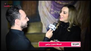 لقاء مع النجوم المكرمين باستفناء رمضان 2015