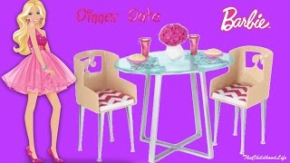 Barbie Life In The Dreamhouse Furniture Set Barbie And Ken Dinner Date