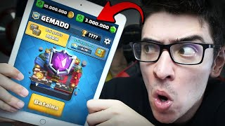 Video INVADI A CONTA DO NÍVEL 13 MAIS GEMADO DO CLASH ROYALE! download MP3, 3GP, MP4, WEBM, AVI, FLV Oktober 2017