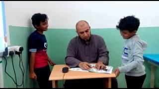 فاصل كوميدي باللغة الانجليزية مع ا. محمد عبدالعال