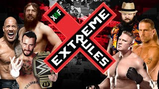XWF Extreme Rules 2015 - Full Show PPV | WWE 2K15