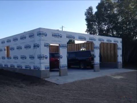 32' x 32' Garage Build Slide Show