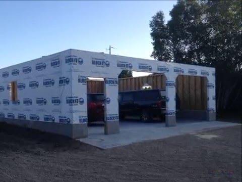 32' x 32' Garage Build Slide Show