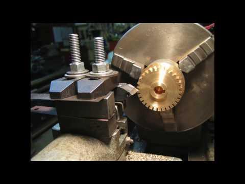 "26 - Gear Made on a 10"" Atlas Lathe"