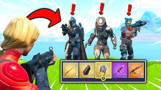 Eliminating ALL Mythic Bosses in One Match of Fortnite (Mythic Weapons Gameplay)