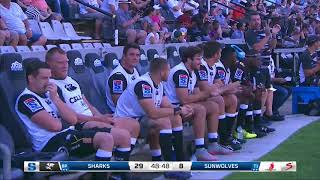 HIGHLIGHTS: 2018 Super Rugby Week 4: Sharks v Sunwolves