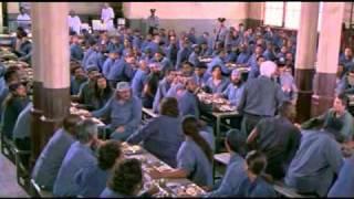 Lt. Frank Drebin - Prison Fight scene (Funny)