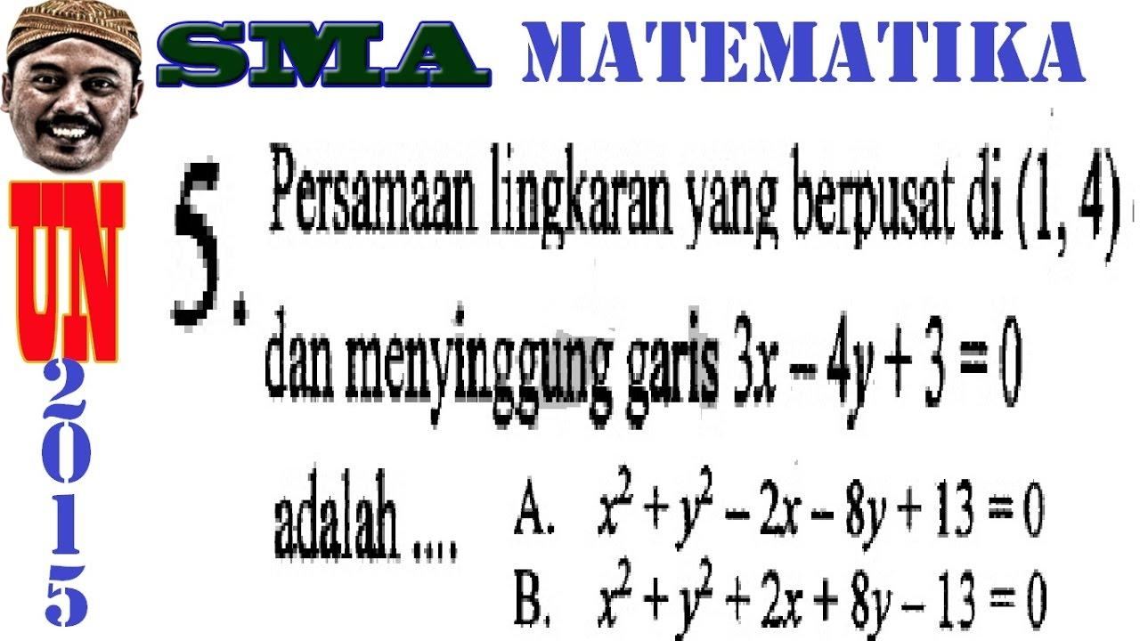 Matematika yang dipelajari dari sd, smp, dan sma lengkap dengan keterangannya. Matematika Dasar Sma Ipa