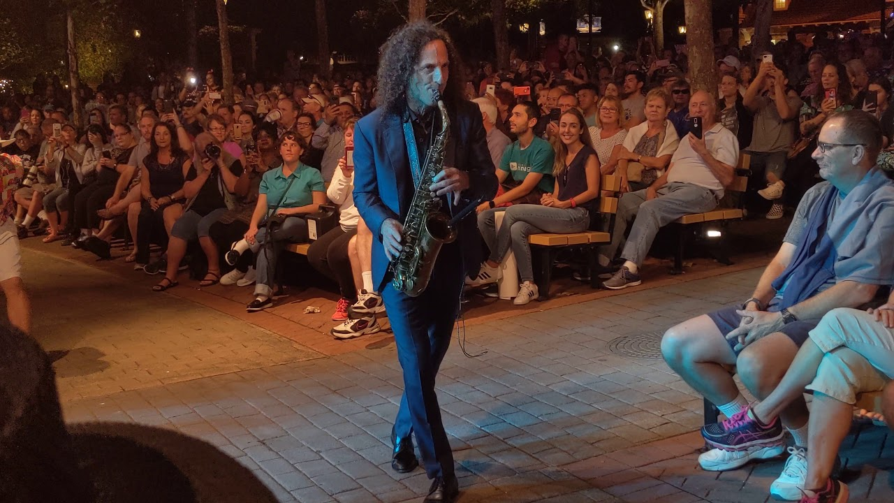 Kenny G Home Live At Epcot Eat To The Beat 2018