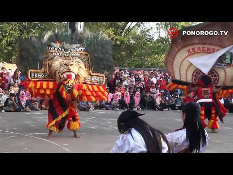 Pertempuran Kelono Sewandono Vs Singo Barong, Reog Ponorogo 25 TH SMA Negeri 1 Balong