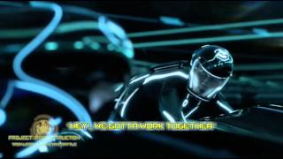 Tron Legacy (2010)-Light Bike Battle Reconstruction (Sound Design Edit)