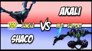 Pink Ward vs TF Blade - AP Shaco vs Akali Full Game #119