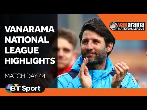 Vanarama National League Highlights Show | Matchday 44