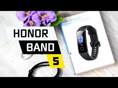 Обзор Умного Браслета Honor Band 5 в Сравнении с Часами Xiaomi Mi Band 4