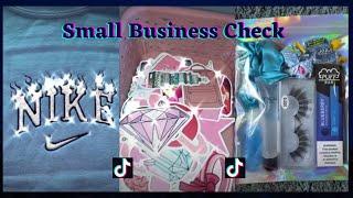 TIKTOK SMALL BUSINESS CHECK 💕(part 2) || PACKING ORDERS TIKTOK~ Satisfying, Asmr