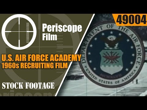 "U.S. AIR FORCE ACADEMY  1960s RECRUITING FILM   "" WHAT MAKES A MAN "" 49004"