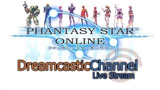 Phantasy Star Online | Dreamcast Online Multiplayer | Live Stream | 7/7/2018