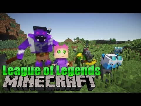 mod de league of legends para minecraft 1.7.10
