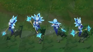 League of Legends: New Ultimate Skin - Elementalist Lux (Ice) Preview