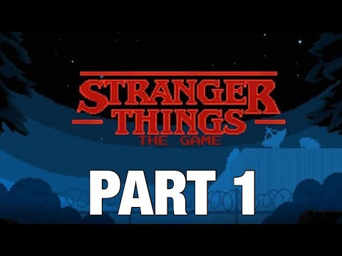 Stranger Things The Game! | Part 1 | The Lost Boys ( The dungeon ).  Walkthrough on iOS