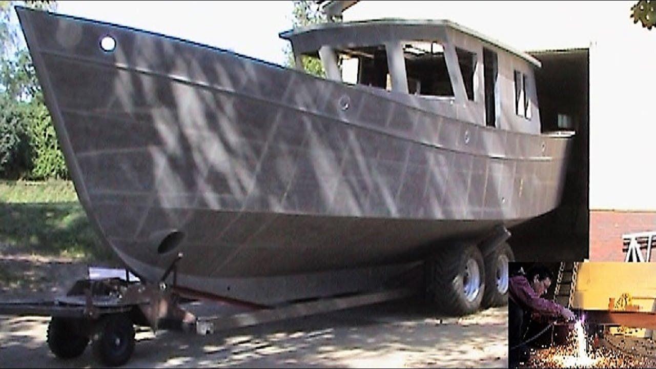 selbstbau der regusta c in breiholz self build boat videogustav youtube. Black Bedroom Furniture Sets. Home Design Ideas