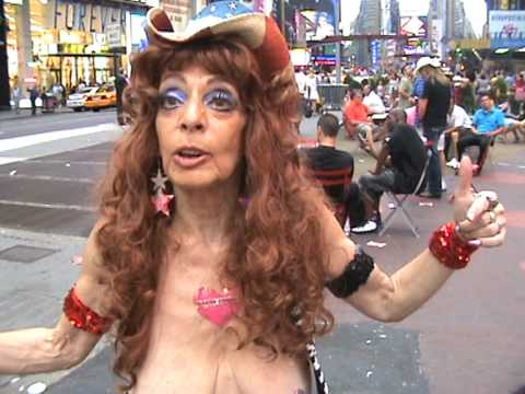 Alejandra the Naked Cowgirl Of Times Square | New York