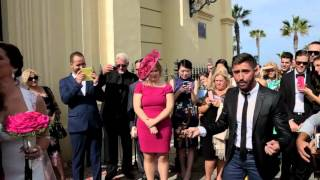El Pellejo canta en la boda de Sandra y Mike en el Santuario...