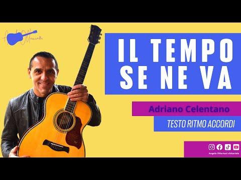 Adriano Celentano - IL tempo Se Ne Va - Chitarra - Guitar - Tutorial