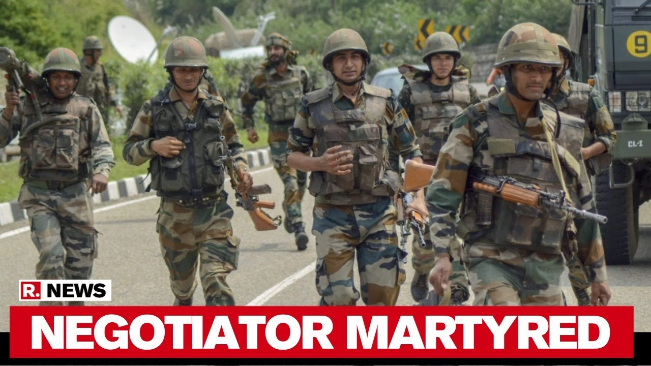 India-China Faceoff: Martyred Colonel Part Of Negotiation Team thumbnail