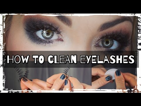 04d406a1bd2 101: How To Clean Fake Eyelashes!!! - YouTube