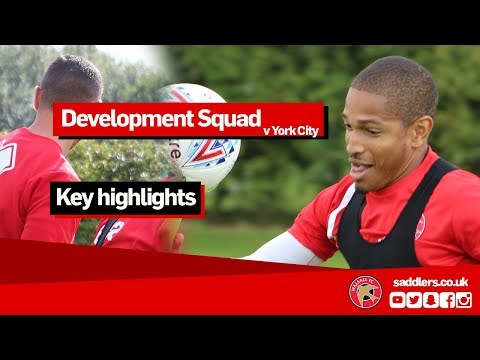 DEVELOPMENT SQUAD HIGHLIGHTS   Walsall 7-1 York City   Central League
