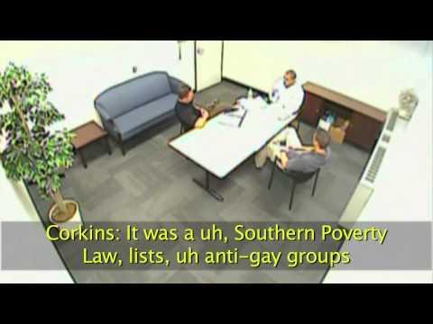 Confessed Terrorist Floyd Corkins Admits to Using SPLC Target List