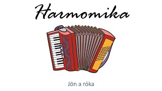 Hangszer ovi - Jön a róka (harmonika) / Hungarian folk children song with animals